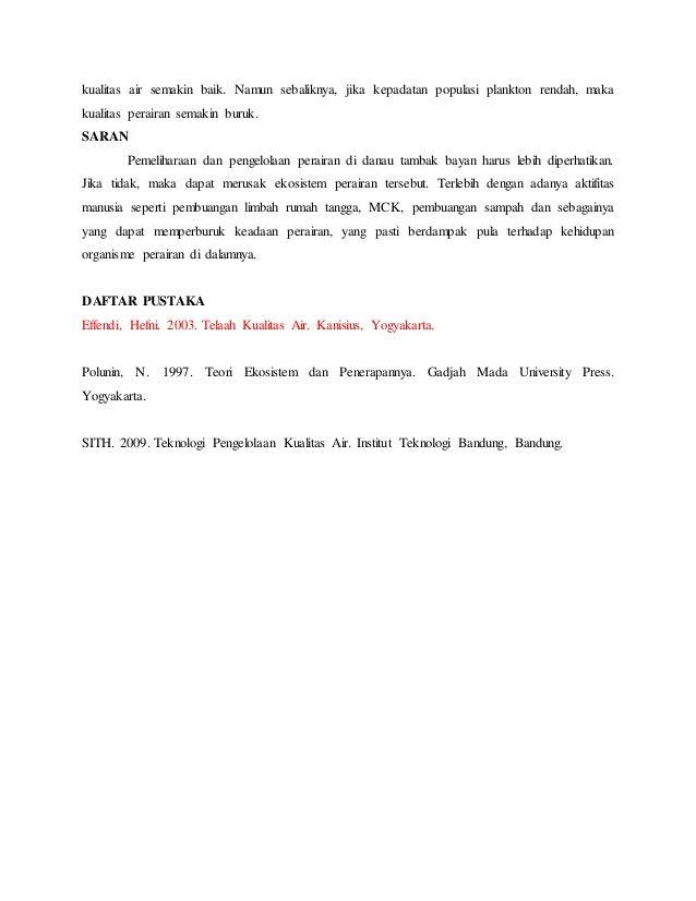 telaah kualitas air pdf download