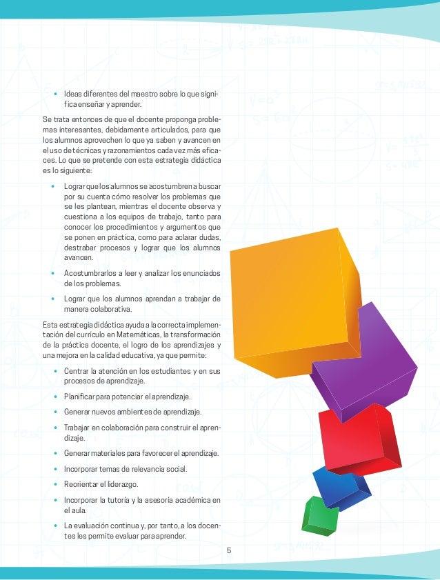 6 Metodología Para la implementación en el aula de la estrategia didác- ticadescrita,sedebenconsiderarlossiguientespuntos....