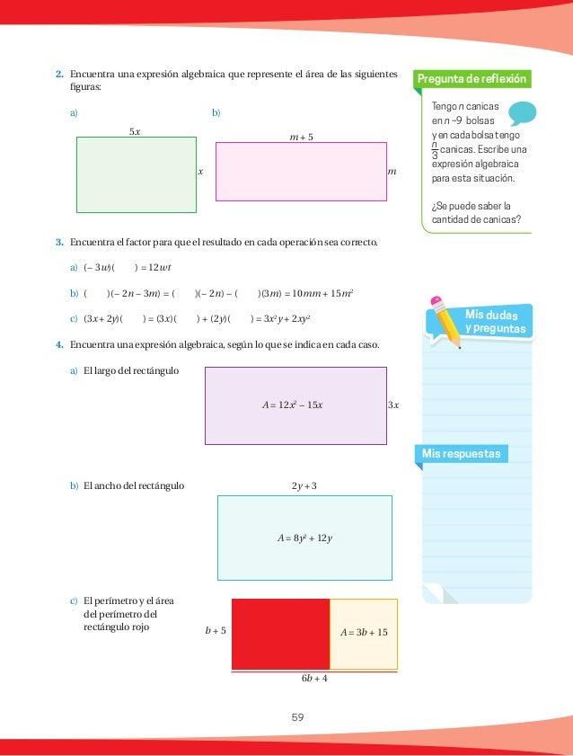 60 Figura Número de lados Número de triángulos que se forman al trazar diagonales desde un solo vértice Suma de ángulos in...