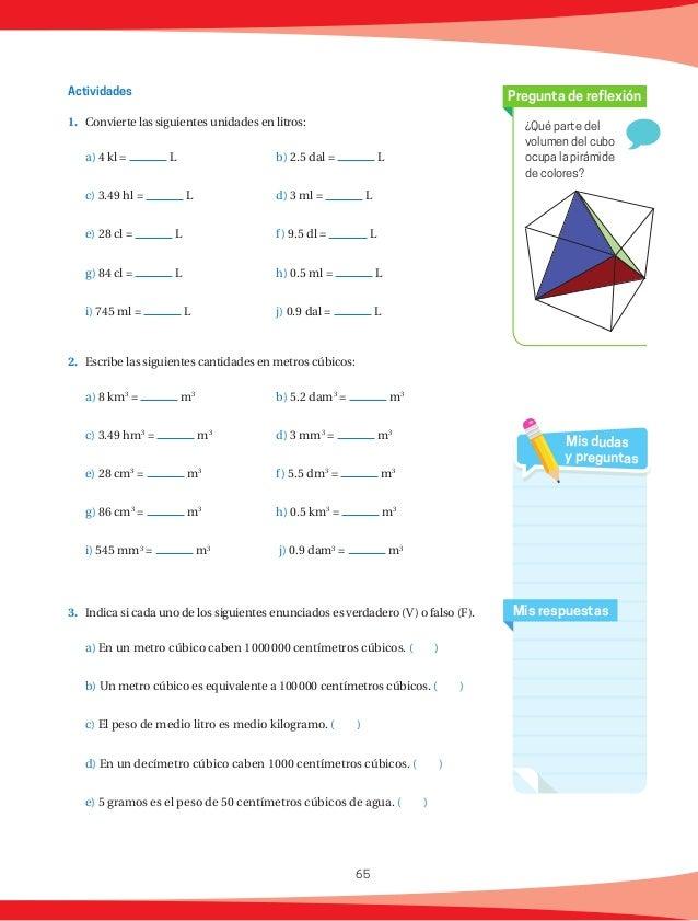66 Matemáticas rápidas 1. Si tenemos dos rectángulos cuyas medidas de uno son 6 y 4 y las medidas del otro son la mitad, ...