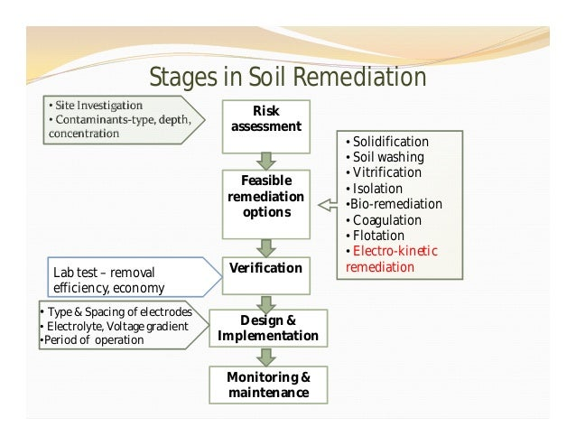 a bio remediation of explosives in contaminated soil Plant bio 20 april 2013 plant  bioremediation of explosive contaminated soil it has been estimated that there are thousands of explosives-contaminated sites.
