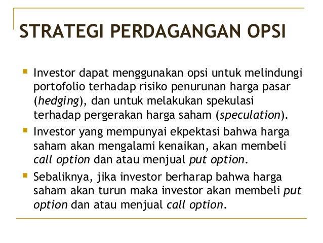Perdagangan opsi saham