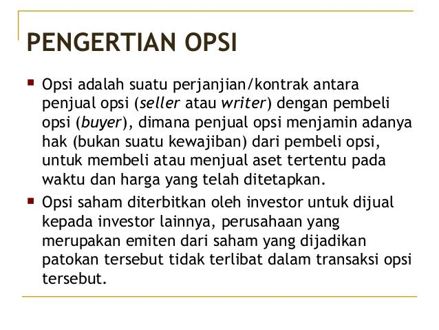 Opsi saham dan lisensi