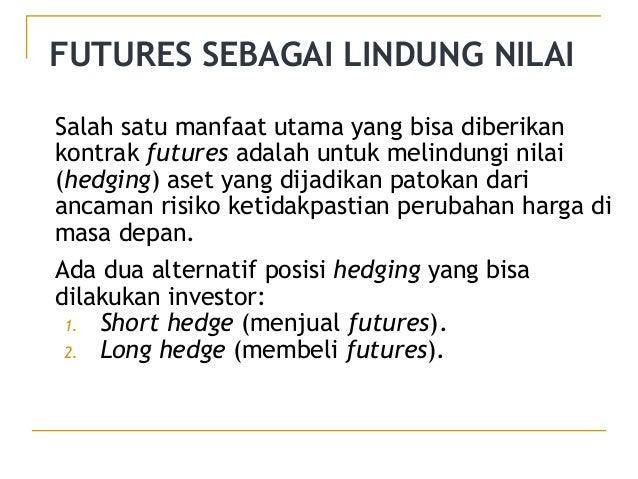 Manfaat perdagangan di futures dan opsi