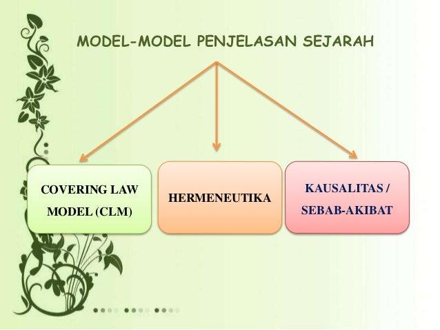 Eksplanasi sejarahppt 6 model model penjelasan sejarah kausalitas sebab akibat ccuart Choice Image