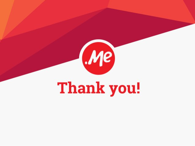 .ME Is Over 800,000 Domains Strong