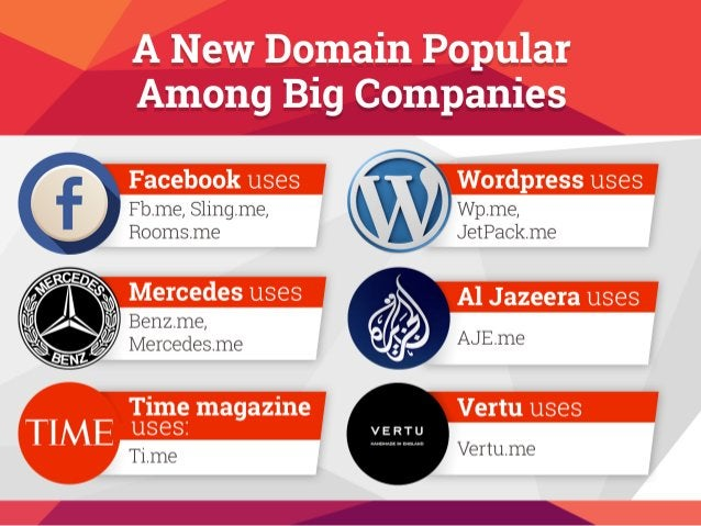"A New Domain Popular Among Big Companes          E""  iordpress uses ,         Mercedes uses   f       Time magazine"