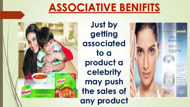 Celebrity endorsement india examples of resignation