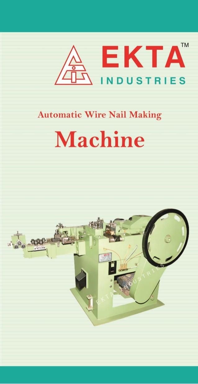 Ekta Industries Rajkot, Nail Polishing Machines