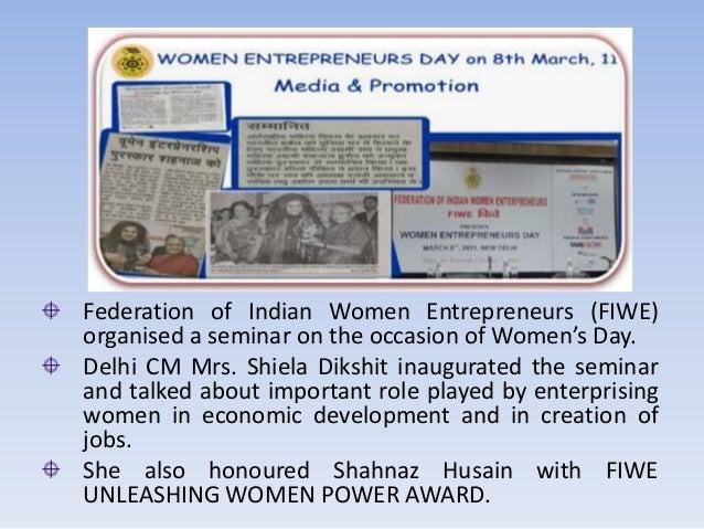 entrepreneurship the shahnaz husain way Shahnaz husain shahnaz husain shahnaz was another successful woman entrepreneur from marketing mba101 at symbiosis center for management & hrd, pune.