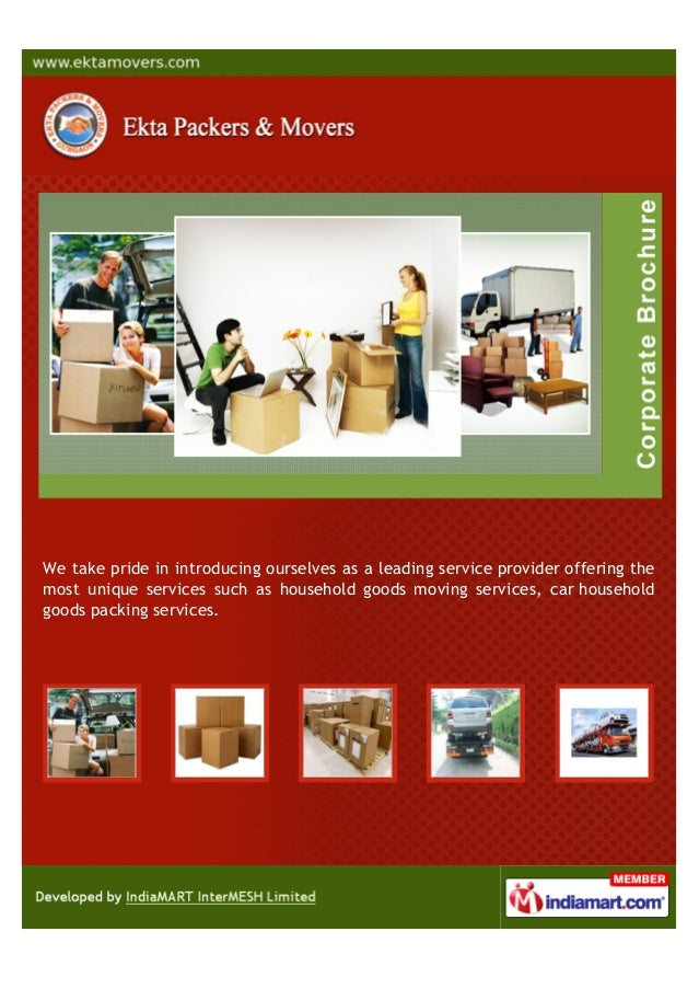 We take pride in introducing ourselves as a leading service provider offering themost unique services such as household go...