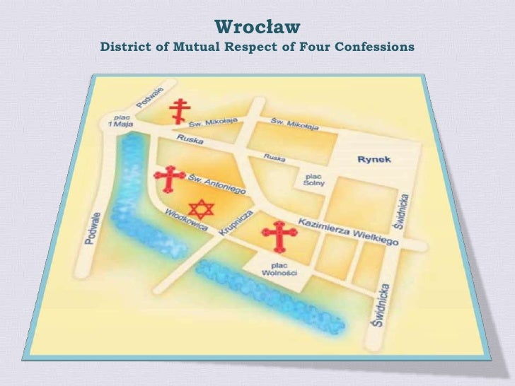 Wrocław<br />Districtof Mutual Respect of Four Confessions<br />