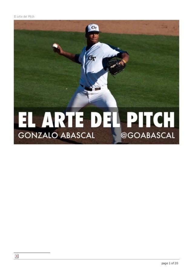 El arte del Pitch                    page 1 of 20
