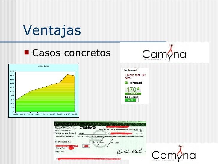 Ventajas <ul><li>Casos concretos </li></ul>