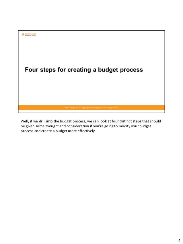 how to create an annual utilities budget