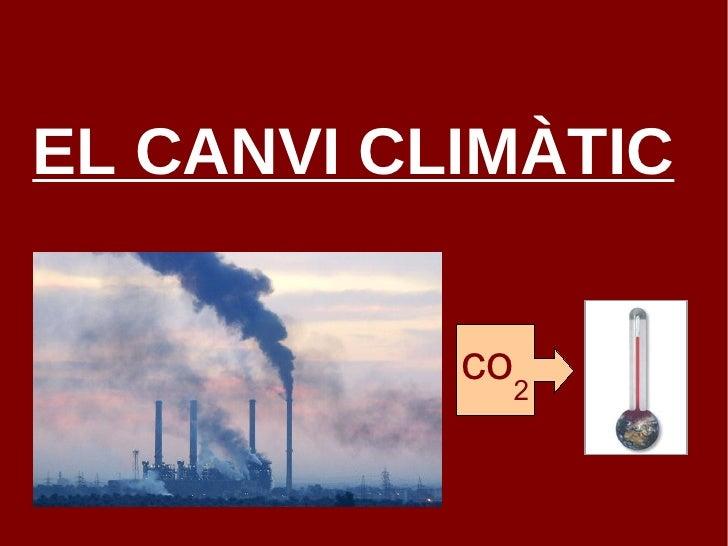 EL CANVI CLIMÀTIC co 2