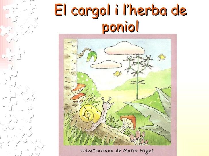 El cargol i l'herba de poniol