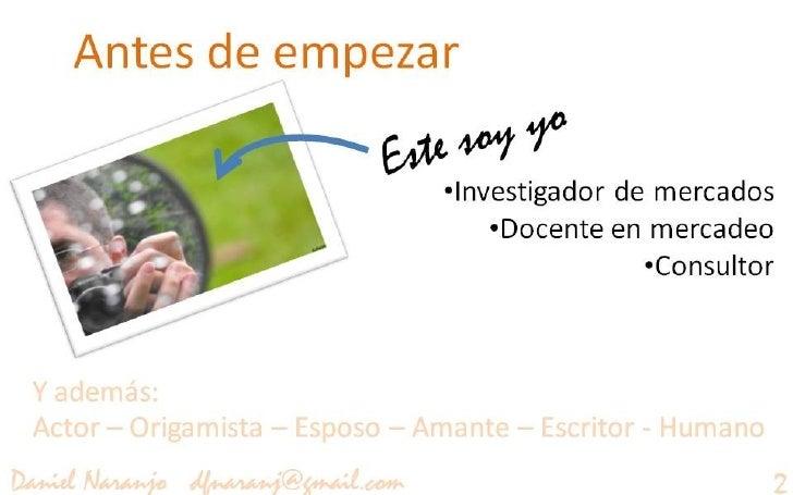 El consumidor 2.0 Slide 2