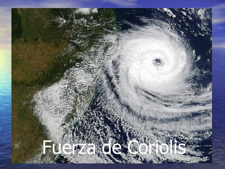 Fuerza de Coriolis