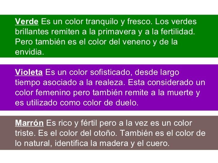 El Color Y Su Significado Simbólico