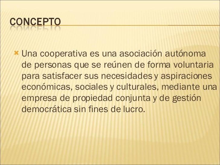 El Cooperativismo Slide 2