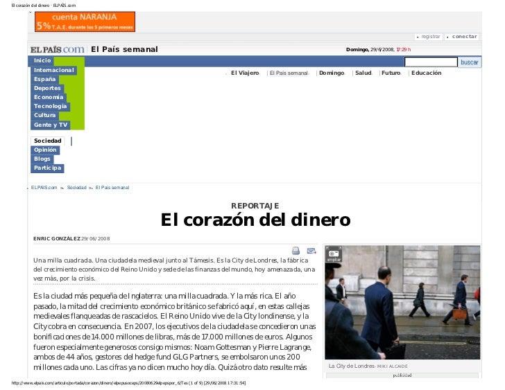 El corazón del dinero · ELPAÍS.com                                                                                        ...