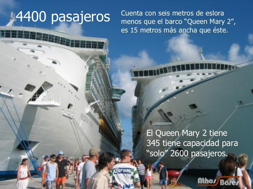 4400 pasajeros El Queen Mary