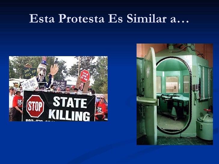 Esta Protesta Es Similar a…