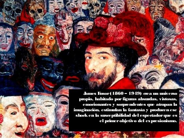 James Ensor(1860 – 1949) crea un universo propio, habitado porfiguras absurdas, vistosas, emocionantes y sorprendentes que...