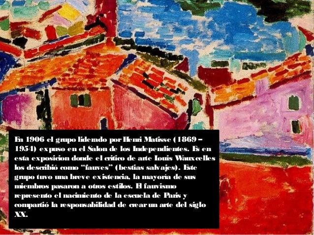 El expresionismo-europeo el fauvismo Slide 3