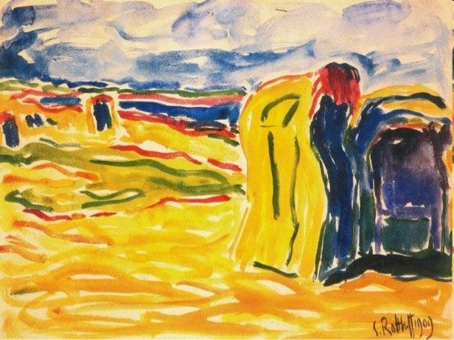 Su traslado a Berlín fue lo que le alejó de los paisajes y le acercó a las figuras y a las naturalezas muertas. La composi...
