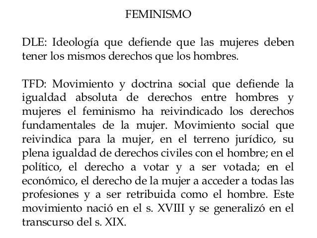 El Feminismo Slide 2
