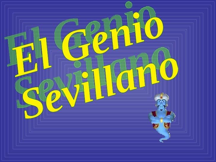 El Genio  Sevillano