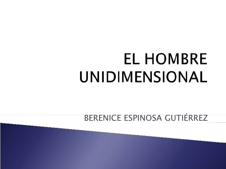 BERENICE ESPINOSA GUTIÉRREZ