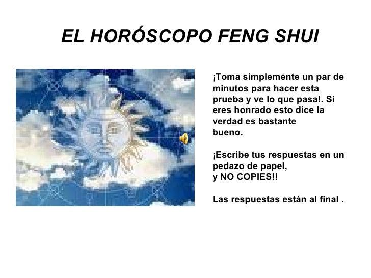 El horoscopo feng shui - Que es el feng shui ...