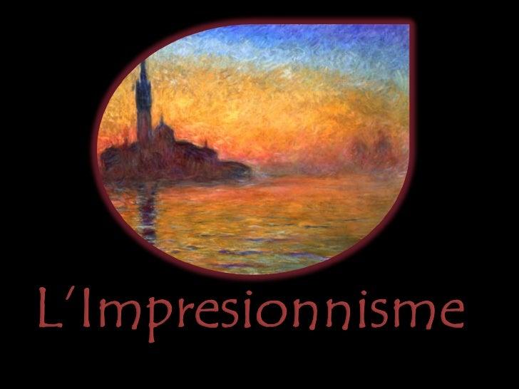 El Impresionismopa Slide 1