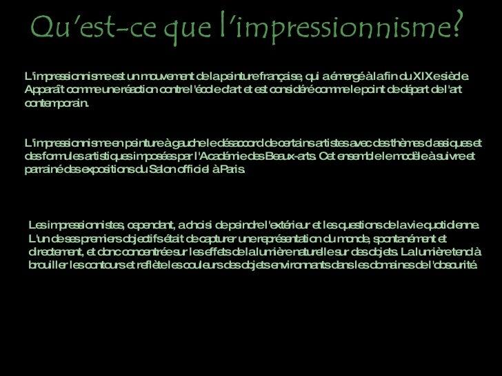 El Impresionismopa Slide 3