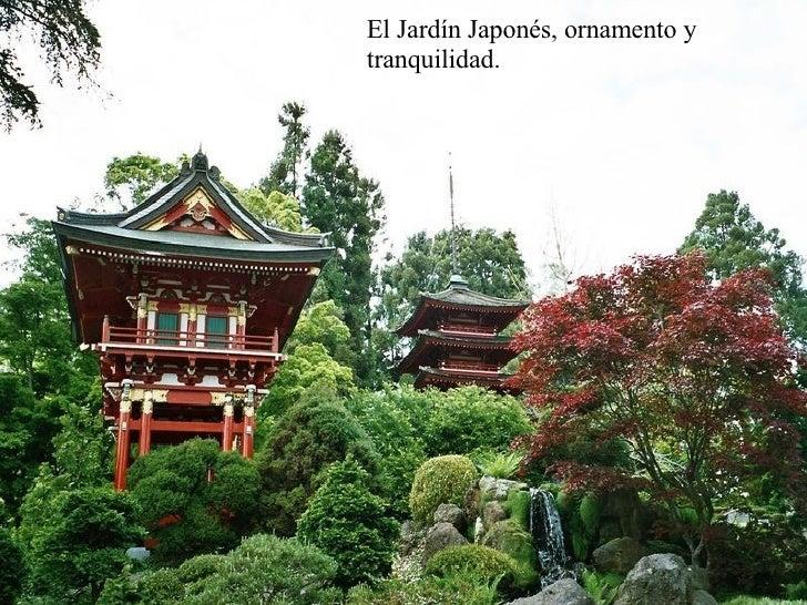 El Jardín Japonés, ornamento y tranquilidad.