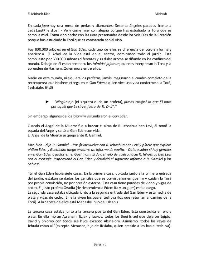 El midrash dice pdf gratis