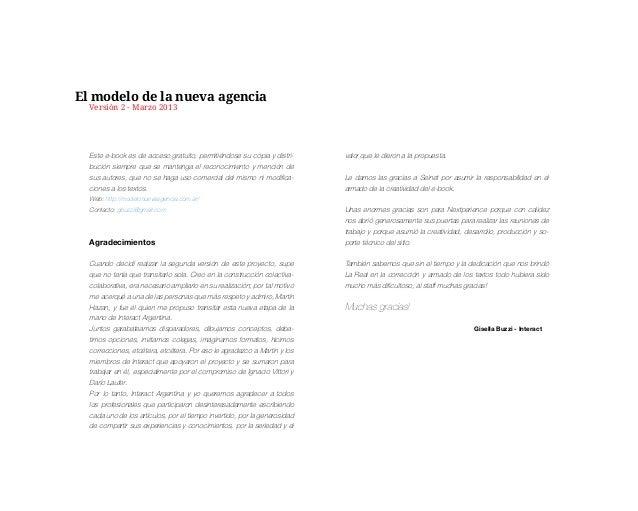 El Modelo de la Nueva Agencia V2 Slide 2