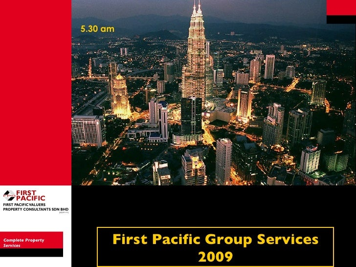 Complete Property Services First Pacific Group Services 2009 5.30 am