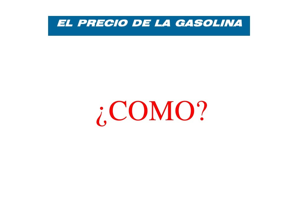 La adquisición de la gasolina de la instalación