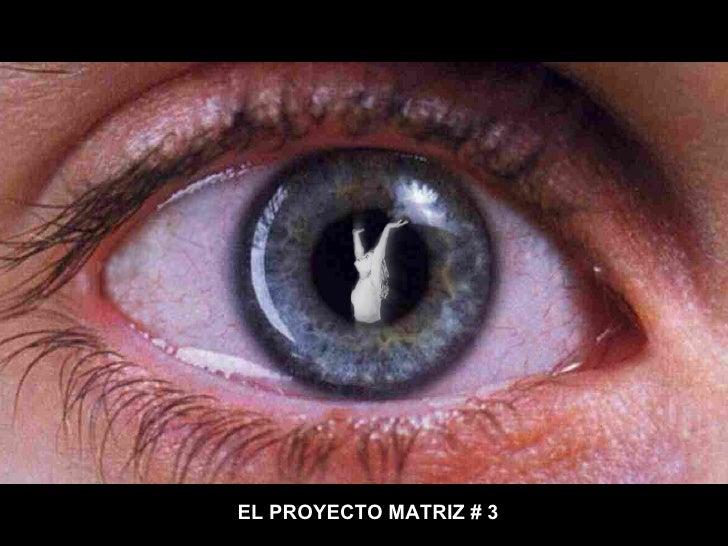 EL PROYECTO MATRIZ # 3