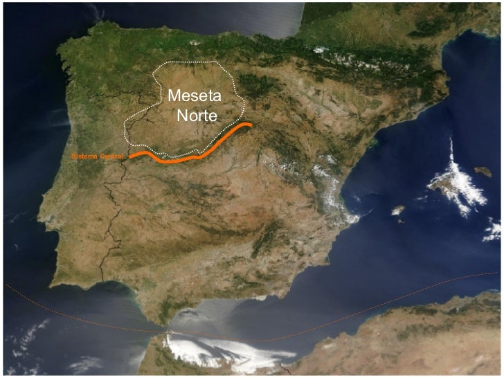 Sistema Central Meseta Norte