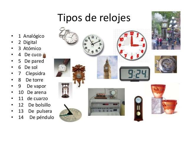 El reloj - Tipos de relojes ...