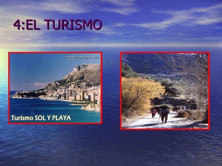 4:EL TURISMO