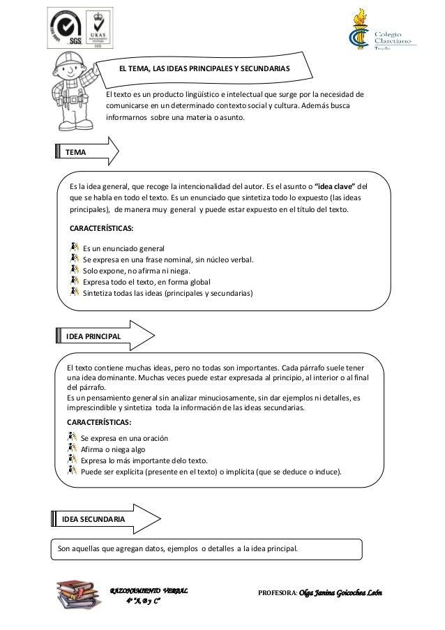 Moderno Principales Hojas Idea De Secundaria Galería - hojas de ...