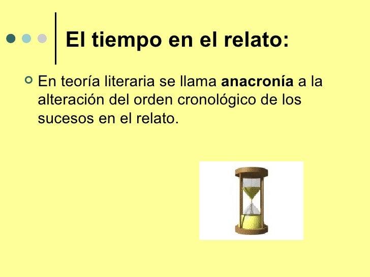 El tiempo y la disposicin en el relato2422 - El tiempo olleria ...