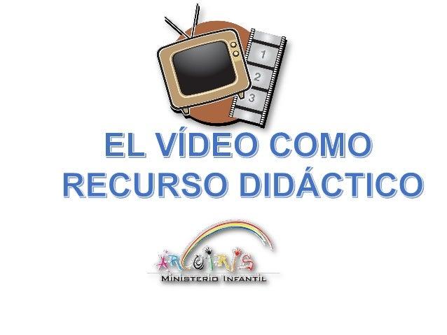 INTRODUCCIÓN USO TÉCNICO DEL video HISTORIA PASOS Y RECOMENDACIONES USO DIDÁCTICO DEL VIDEO FUNCIONES DIDACTICAS DEL VIDEO...
