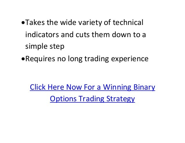 binary options earnings strategy revealed
